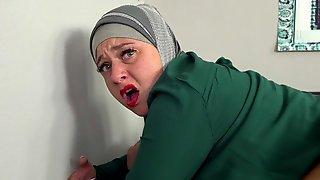 Astonishing Muslim Hottie Monika S Screwed For Money On The Sofa