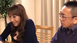 Japanese Mom Shakes Her Big Natural Tits While Taking A Deep Pounding
