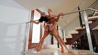 Best Scenes Of Hard Sex With Flexible Women On Fire
