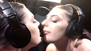 Saliva Twin Mirror Licking ASMR