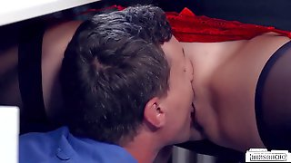 BACKSIDES BUERO - Huge-Titted German Assistant Ravaged By Her Counterpart In Red-hot Office Hook-up