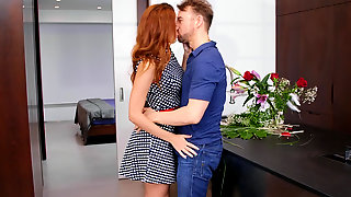 Charlie Red Teases Her Man Into Sex