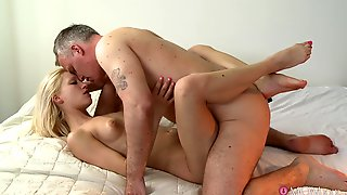 Horny Man Deep Drills Younger Niece And Cums Inside Her