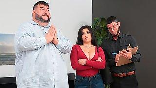 Big-boobed Hottie Gabriela Lopez Is Getting Screwed From Behind