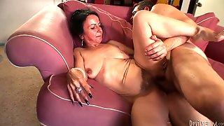 Miss Nina Swiss Is Riding Jay Huntingtons Thick Penis