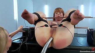 Hot BDSM Scene With Aiden Starr & Claire Robbins
