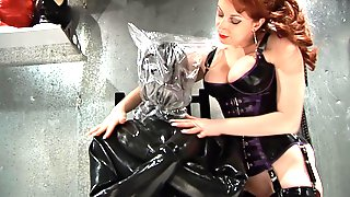 Rubber Straight Jacket Bagging