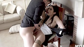 Aroused Teen Fucked In Her Pink Cherry Harder Than Ever Before