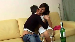 Amateur Fucked Doggystyle And Than She Gave A Blowjob