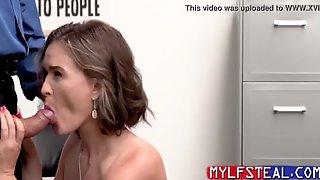Ass Fucking Stealing MILF As Punishment
