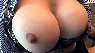 Short-haired German Blonde With Round Boobs Is Pounded Up The Butt By Her Boss