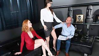 Roccos Perverted Secretaries - Scene 3