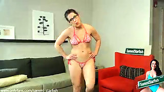Tramp, Stepmom-son, Bikini
