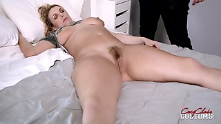 Thick Milf With Big Tits Touched And Fucked While Sleeping - Joslyn Jane