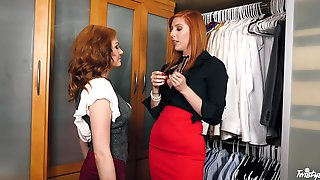 Elegant Women Jessica Rex And Lauren Are Ready For A Lesbian Fuck