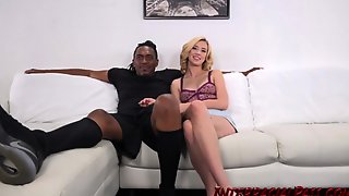 Tight Blonde Destroyed By Huge BBC
