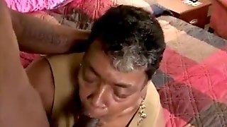 Black Grandmother Fucks Big Black Dick