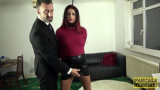 Obedient Babe Suits Her Thirst For BDSM Porn After Watching A Movie