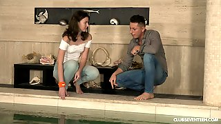 For Alessandra Amore Nothing Is Better Than A Sex By The Pool With A Stranger