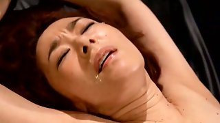 Bound Japanese Kei Marimura Abused By Crazy Large Tentacles