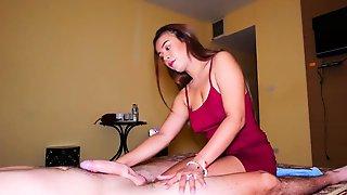 Big Natural Tits MILF Amateur Massage