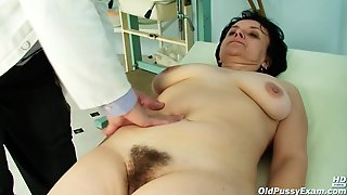 Czech Granny Likes Everything Her Gynecologist Is Doing With Her Pussy, When She Visits Him