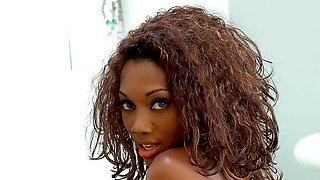 Kinky Babe Nyomi Banxxx Likes Intensive Interracial Sex