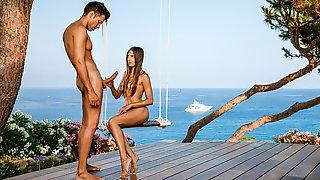 Organic Sex Swing On The Beach