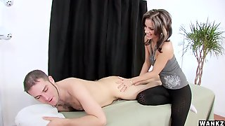 French Masseuse Gives Happy Ending