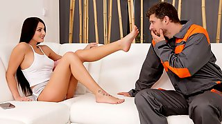 Good-looking Chick Katy Rose Is Enjoying Intensive Penetration So Much