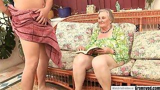 70 Yo Granny Banged Hard By A Big Cocked Guy