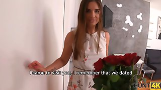 HUNT4K. Brilliant Colleen Gives Her Mouth, Pussy, And Ass To Ex-bf