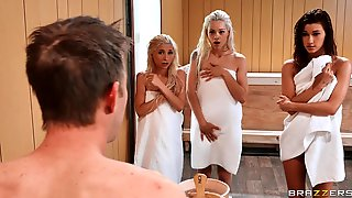 4some Orgy With Piper Perri, Alaina & Elsa Jean