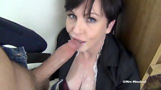 Mrs Mischief Pov ORAL Creampie Compilation - Cum In Mouth Cumpilation