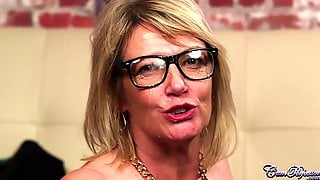 Lustful Granny Amy In Glasses Blows Dick