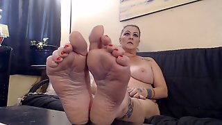 Nude Thick Dry Padded Wrinkles Soles