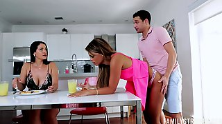 Lucky Gens Fucks His Thick Ass Latina Aunt In The Craziest XXX