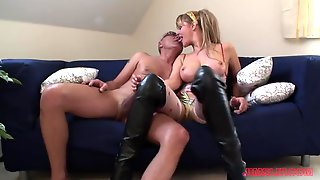 Horny Blonde Starr Is Ready To Show Her Unforgettable Fucking Skills