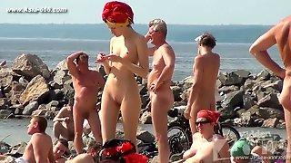 Peeping Naturist Beach.33