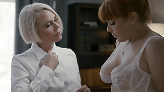 Penny Pax Proves She Is A Good Girl By Going Down On Sadistic Headmistress