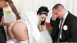 Dirty Wife Payton Preslee Gets Fucked By Black Dudes - Cuckold