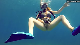 Hottest Underwater Sea Erotics Of Kasandra Lufi