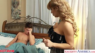 Horny Friends Mom Knows What To Do With A Morning Wood