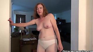 You Shall Not - Dominant Matures With Saggy Tits In Solo Compilation