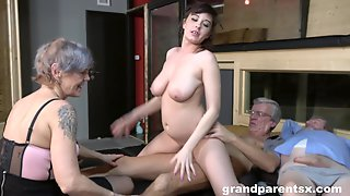 Nude Matures Fucked By A Pair Of Old Men In Serious Foursome