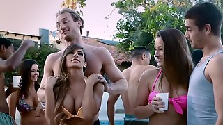 Party Time Outdoors With Some Nasty Porn Babes