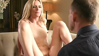 Blonde Wife Wants To Feel Her Husband In As Many Positions As Possible