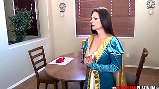 PORNSTARPLATINUM Huge-Titted Step-Mom Mindi Mink Rails Stiffy POINT OF VIEW