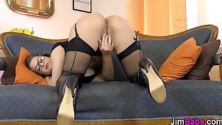 British Amateur Gets Ass Spermed By Old Guy