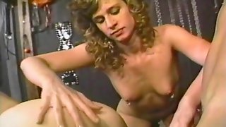 Amateur FFM Threesome With A Wife And Her Kinky Best Friend